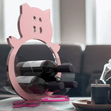 Portabottiglie-da-tavolo-wine-holder-piggy